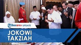 Jokowi Takziah ke Rumah Duka BJ Habibie di Kuningan, Ikut Salatkan Jenazah Almarhum