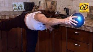 Легкие упражнения на баланс, видеоуроки