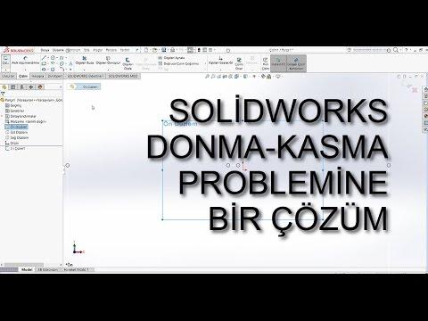 Solidworks 2019 02 Büyük Montaj Grafik Performansı