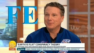 Flat Earth interview Piers Morgan, Terry Virts, & Mark Sargent AUDIO ✅