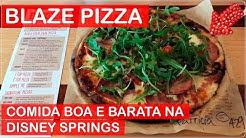 A MELHOR PIZZA de ORLANDO na DISNEY SPRING com PREÇOS nos EUA