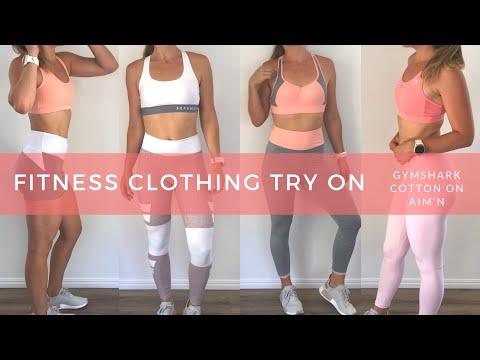 NEW Workout Clothing & Activewear Try On Haul | Gymshark | Aimn | Cotton On