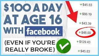 💵 How To Make Money With Facebook With FREE TRAFFIC Only - Make $100 a Day Online For FREE 💵
