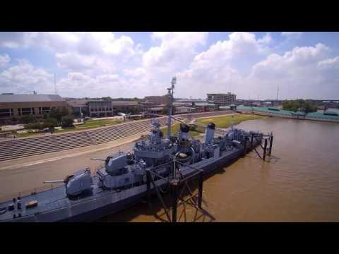 USS Kidd in 4K