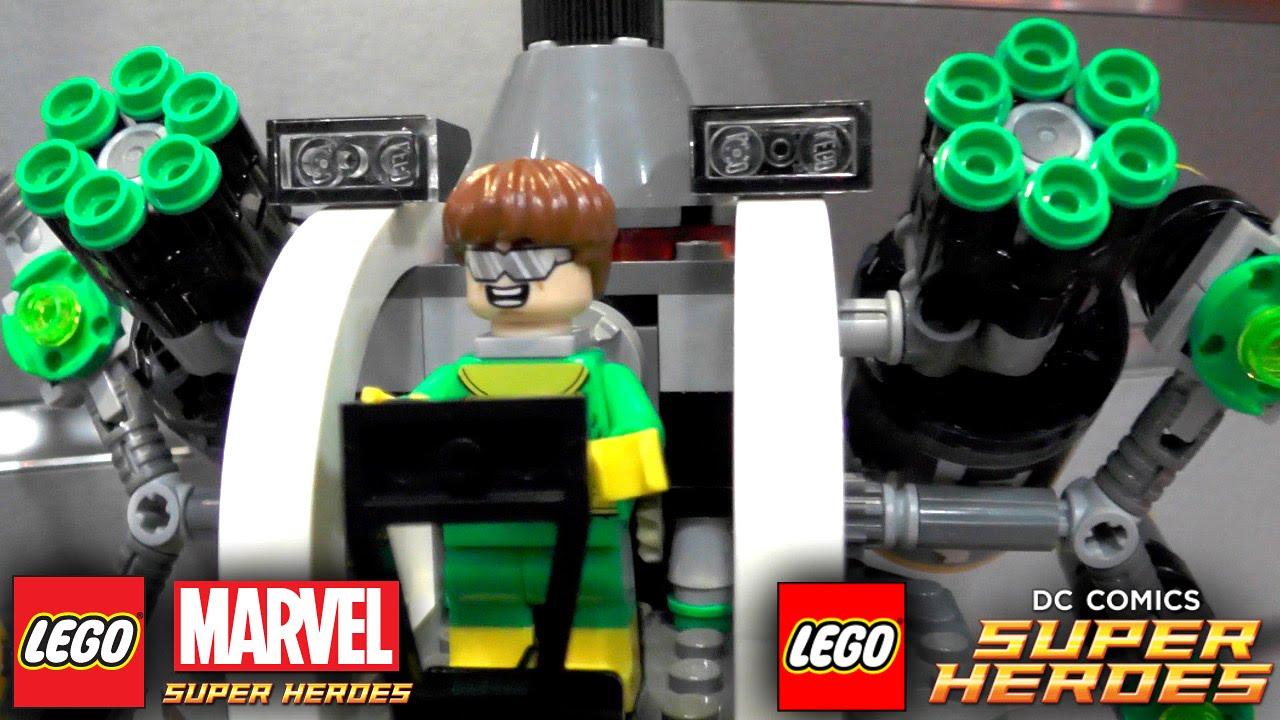 lego marvel superheroes instructions
