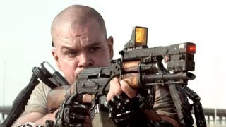 Elysium Trailer 2013 Matt Damon Movie - Official [HD] thumbnail