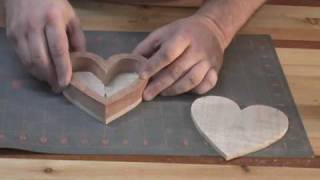 Scroll Saw Heart Box Part 3