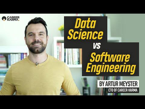 Data Science Vs Software Engineering By Artur Meyster, CTO Of #CareerKarma