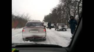 Ужасное ДТП, трасса Киев-Сумы. 8.01.2017.(, 2017-01-09T16:40:33.000Z)