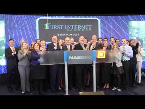 First Internet Bancorp goes public (INBK) - a recap of our NASDAQ bell ringing ceremony in NYC
