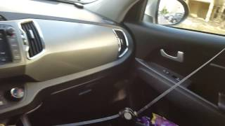 Блиц-обзор панарамное зеркало, часы, автошторка от солцна на лобовое стекло,тройник с 2usb