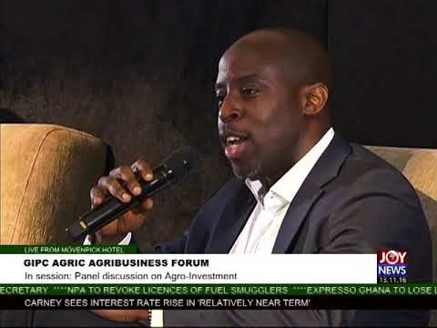 GIPC Agric Agribusiness Forum - The Market Place on Joy News (3-10-17)