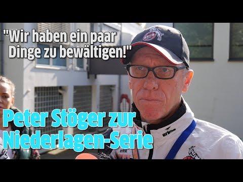 1. FC Köln: Trainer Peter Stöger zum Saisonstart-Debakel in der Bundesliga