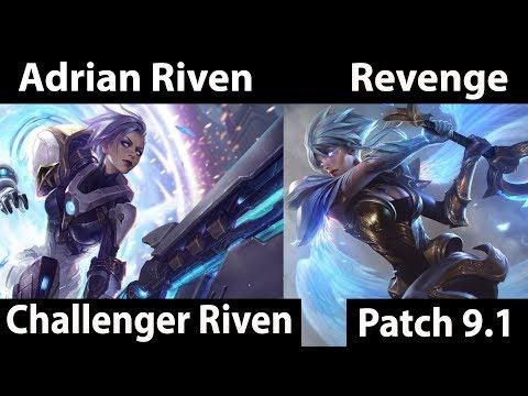 [ Adrian Riven ] Riven vs Riven [ Revenge ] Top - Twitch Rivals - game 2