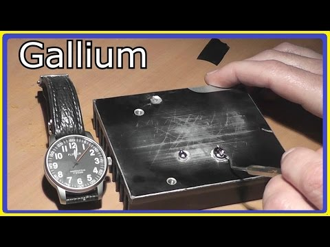 Demonstration of GALLIUM's Amazing Destructive Power (gallium bullet follow up)