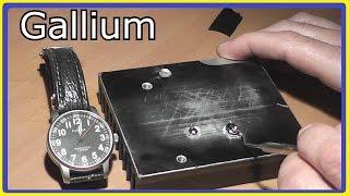 Demonstration of GALLIUM's Amazing Destructive Power (gallium bullet follow up)