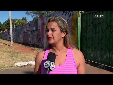 Escola de Ceilândia está fechada há 3 anos por falta de reforma   SBT Brasília 19/07/2018