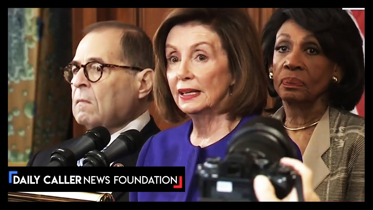Democrats Announce Articles of Impeachment For 'Abuse' and 'Obstruction' DC Shor