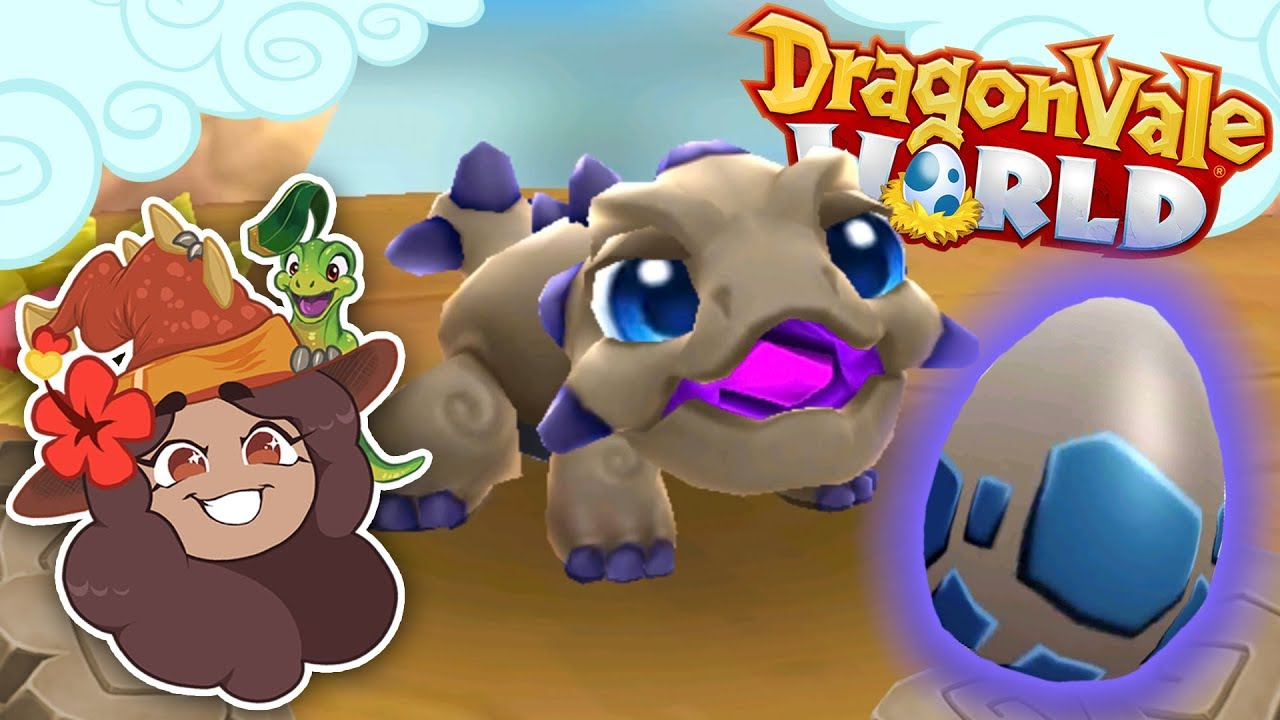An Adorable Enchanted Amethyst Earth Dragon!! 🐲 DragonVale World