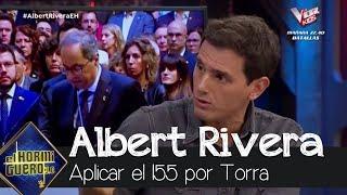 Albert Rivera aboga por aplicar el 155
