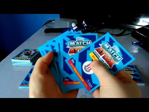 Opining 10/packs off match attax 2017/18 premiere league!