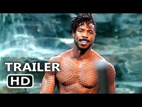BLACK PANTHER Final New Trailer (2018) Superhero Marvel Move HD