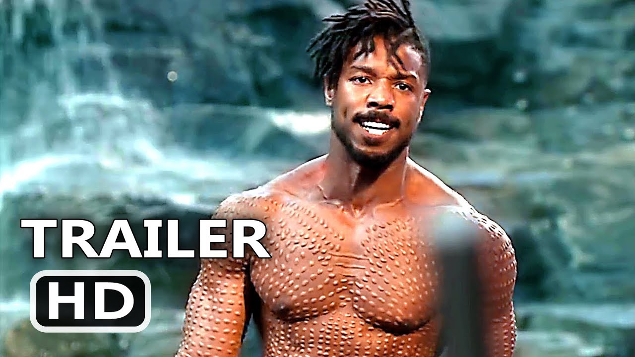 BLACK PANTHER Final New Trailer (2018) Superhero Marvel Movie HD