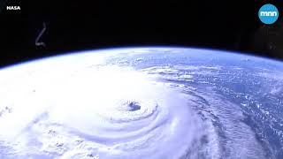 A view of Hurricane Florence from the International Space Station