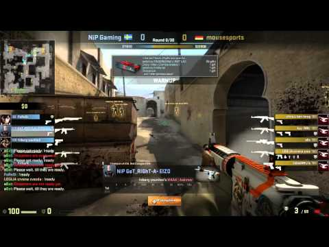 Caseking of the Hill #5 - mousesports vs. NiP (map 2)