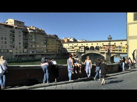 Walk around Florence Italy