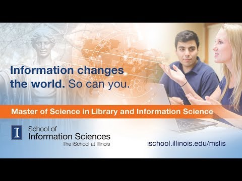 Master of Science in Library & Information Science  (MS/LIS) Online Program