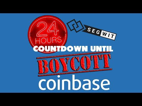 Today in Bitcoin News Podcast (2017-12-05) - 24 Hours until Coinbase Boycott - Adopt Segwit Now!