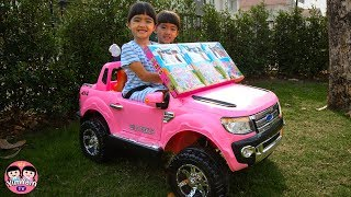หนูยิ้มหนูแย้ม   ขับรถตามหาของเล่น Drive to find Toys