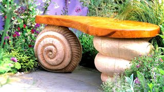 Beautiful garden benches! 80 examples from wood, metal and concrete!