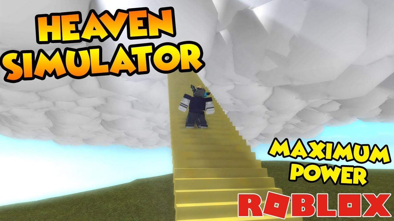 Heaven Simulator Getting Unlimited Power Roblox Youtube