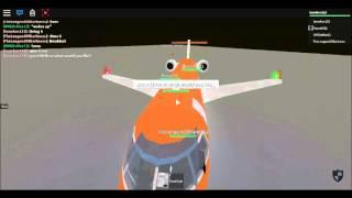 ROBLOX Flight Aer Oranje CRJ 200 Part 3
