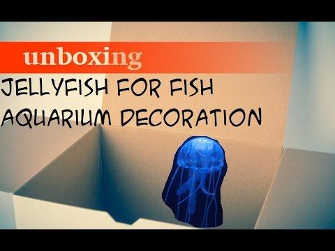 Jellyfish For Fish Aquarium Decoration From GearBest