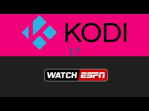 How To Install WatchESPN Kodi 17 3 - YouTube