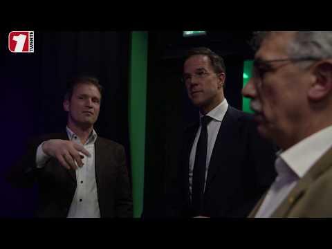 In Beeld: Mark Rutte op bezoek bij Newsroom Enschede