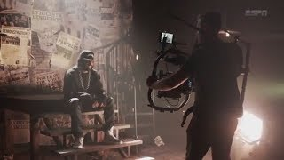 Behind the scenes of Daveed Diggs' Warriors rap 'Back to the Bay' music video | ESPN