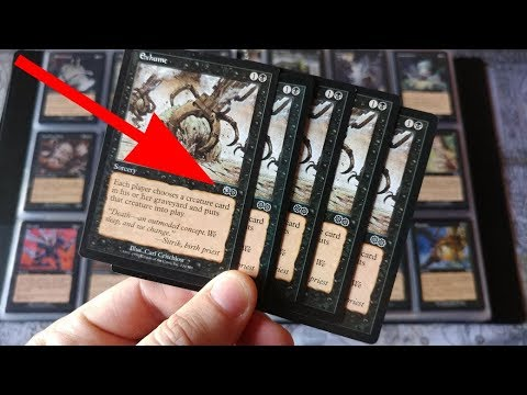 Magic The Gathering Mysteries = Comment if you know the STORY / ANSWERS