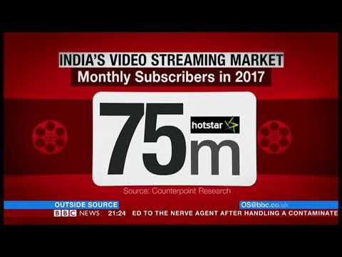 Netflix to conquer India?  BBC   5th July 2018