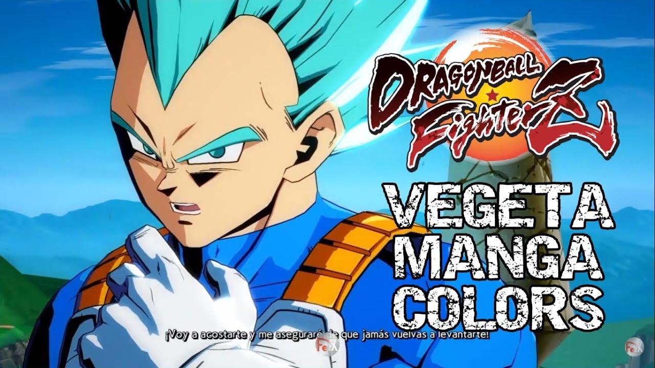 Ps4 Dragon Ball Fighterz Vegeta Manga Colors Gameplay Youtube