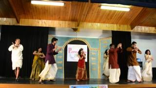 Maangalyam Dance - At Ponnonam 2014, Hobart