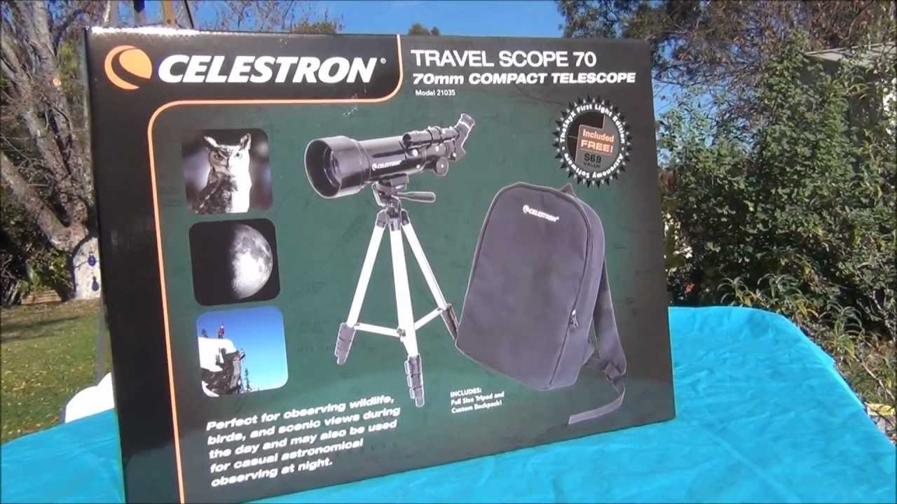 Celestron Travel Scope 70 Review Model 21035
