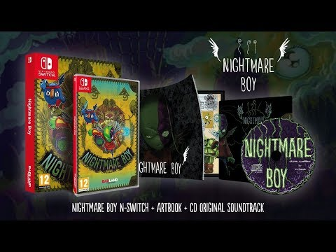 [NTH UNBOXING] Nightmare Boy (Nintendo Switch) thumbnail