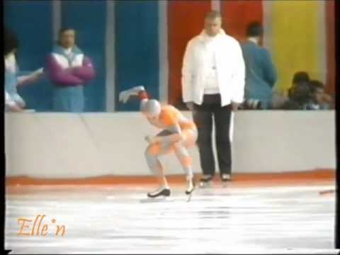Winter Olympic Games Calgary 1988 - 1500 m Blair