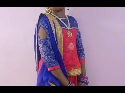 New fashion lehenga choli stitching || part -2