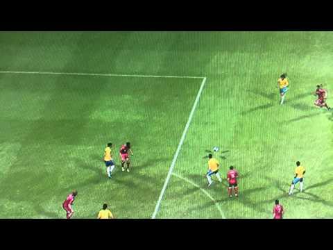 PES2013 Golazoooo de Rafael Pereira da Silva !!! Brazil Vs Venzuela