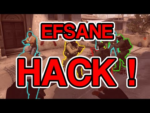 EFSANE HACK ! - Cs: GO - Overwatch - 2